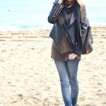 Having a walk near the sea
