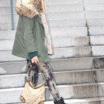 Military Parka outfit