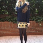 Wool Sweater and skirt