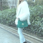 Hope 1967 green bag and yeti coat