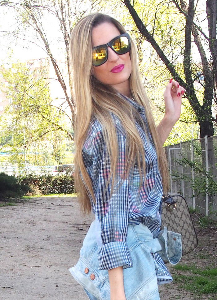 Men_Shirt_Mirror_Sunnies_Denim_Jacket_Jeans_New_Balance_Gucci_Boston_Bag_Numero_3_Lara_Martin_Gilarranz_Bymyheels