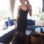 Chilling at the rooftop – LA
