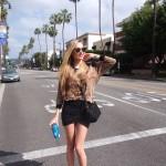 Having a walk – LA