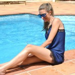 Lace dresses and pool parties go together – Ibiza
