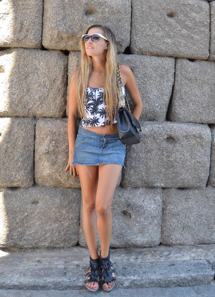 Segovia_Denim_Skirt_Esprit_Sunnies_Chanel_Mustang_Lara_Martin_Gilarranz_Bymyheels (7)