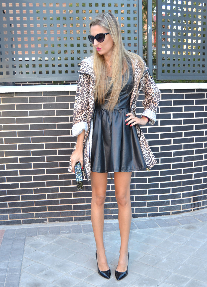 Venca_Gabardina_Animal_Print_Leather_Dress_Zapatos_Negros_Charol_Armand_Basi_Lara_Martin_Gilarranz_Bymyheels (3)