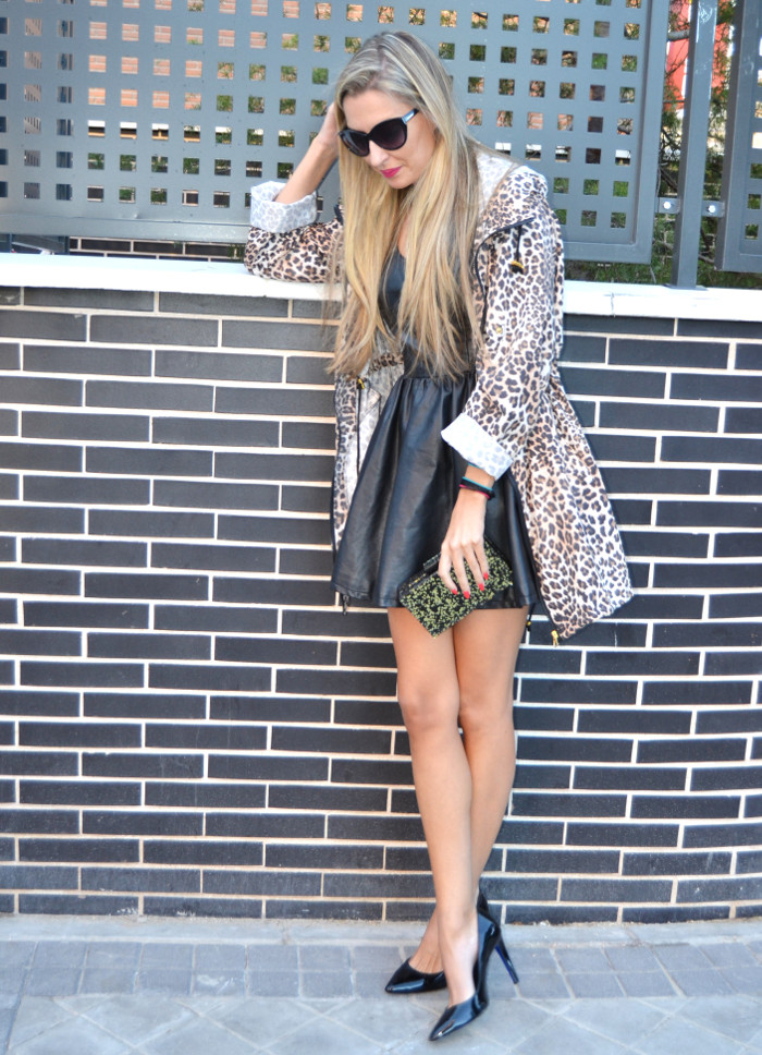 Venca_Gabardina_Animal_Print_Leather_Dress_Zapatos_Negros_Charol_Armand_Basi_Lara_Martin_Gilarranz_Bymyheels (7)