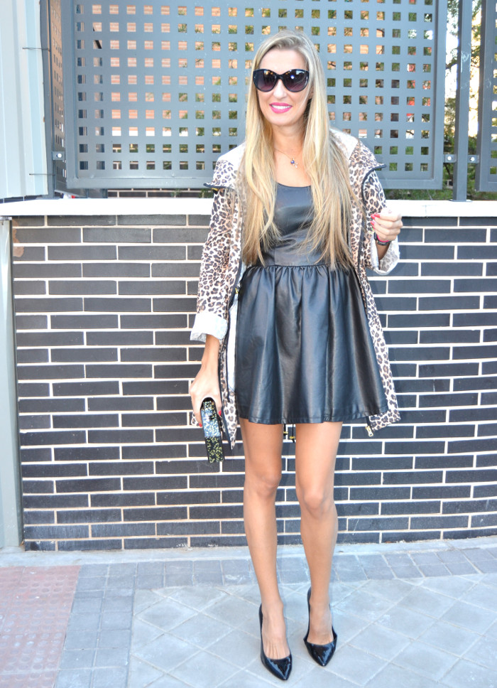 Venca_Gabardina_Animal_Print_Leather_Dress_Zapatos_Negros_Charol_Armand_Basi_Lara_Martin_Gilarranz_Bymyheels (8)