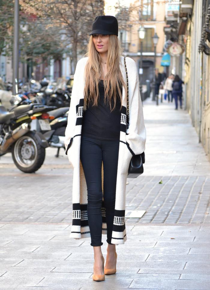 Long_Cardigan_Hat_Asos_Zara_Stilettos_Jumbo_Chanel_Lara_Martin_Gilarranz_Bymyheels_Street_Style_Fashion_Blogger (5)