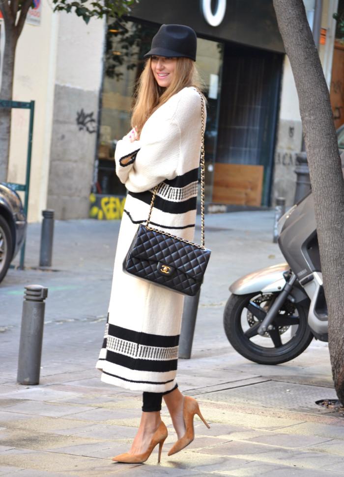 Long_Cardigan_Hat_Asos_Zara_Stilettos_Jumbo_Chanel_Lara_Martin_Gilarranz_Bymyheels_Street_Style_Fashion_Blogger (8)