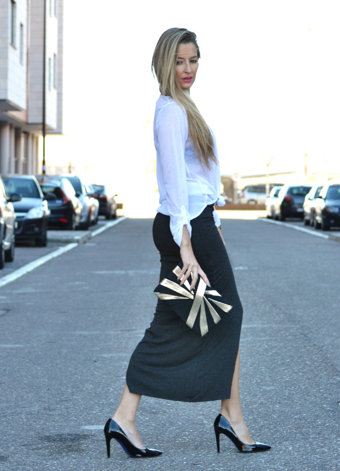 Long_Skirt_Clutch_Compania_Fantastica_Black_White_Stilettos_Lara_Martin_Gilarranz_Bymyheels (4)