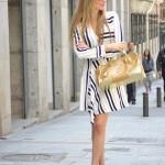 Stripes Dress Spring
