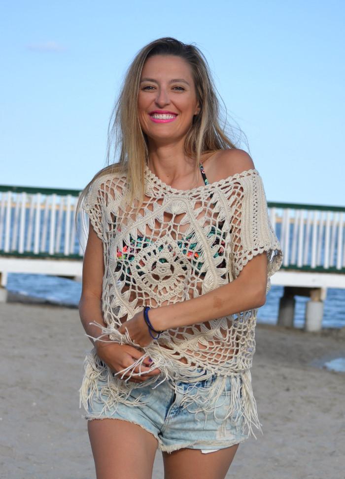 C&A_Crochet_Denim_Shorts_Flowers_Print_Cap_Beach_Fun_Lara_Martin_Gilarranz_Bymyheels (10)