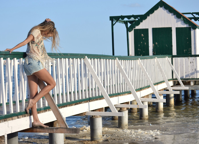 C&A_Crochet_Denim_Shorts_Flowers_Print_Cap_Beach_Fun_Lara_Martin_Gilarranz_Bymyheels (13)