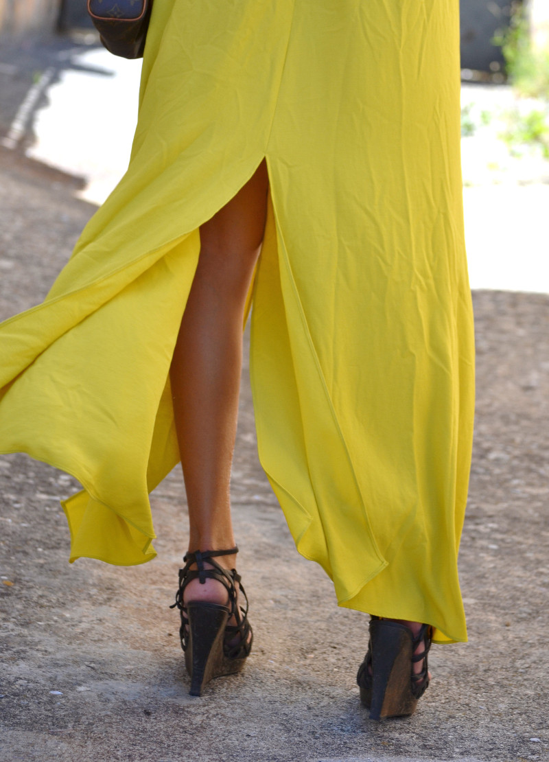 Mustard_Long_Skirt_Sandals_Wood_Min_Speedy_Louis_Vuitton_Clubmaster_Ray_Ban_Lara_Martin_Gilarranz_Bymyheels_ (1)