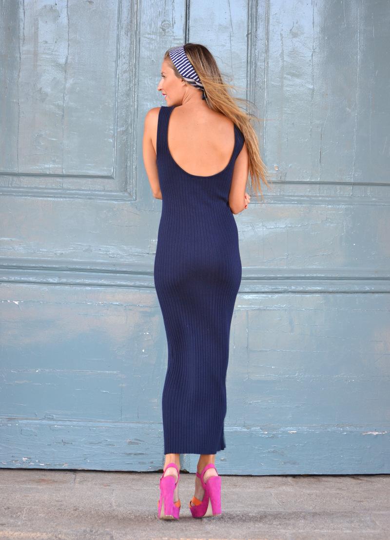 Knit_Long_Dress_Blue_Zara_Pink_Fluor_Chihuahua_Lara_Martin_Gilarranz_Bymyheels (1)