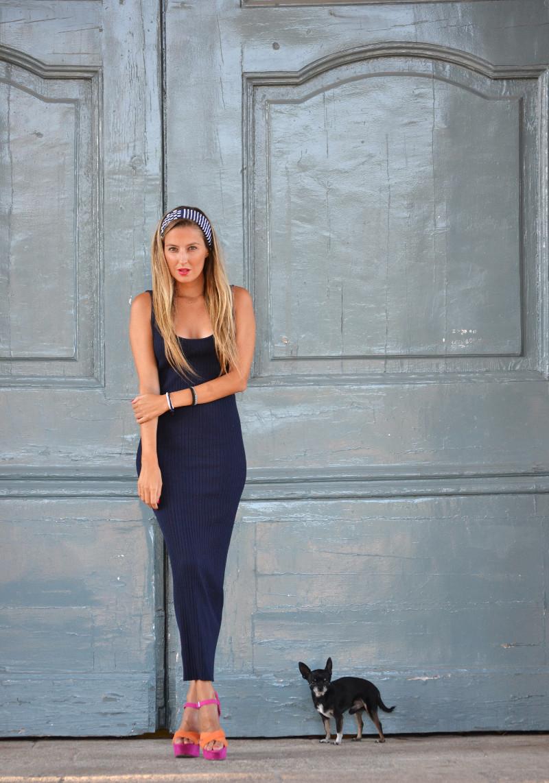 Knit_Long_Dress_Blue_Zara_Pink_Fluor_Chihuahua_Lara_Martin_Gilarranz_Bymyheels (2)