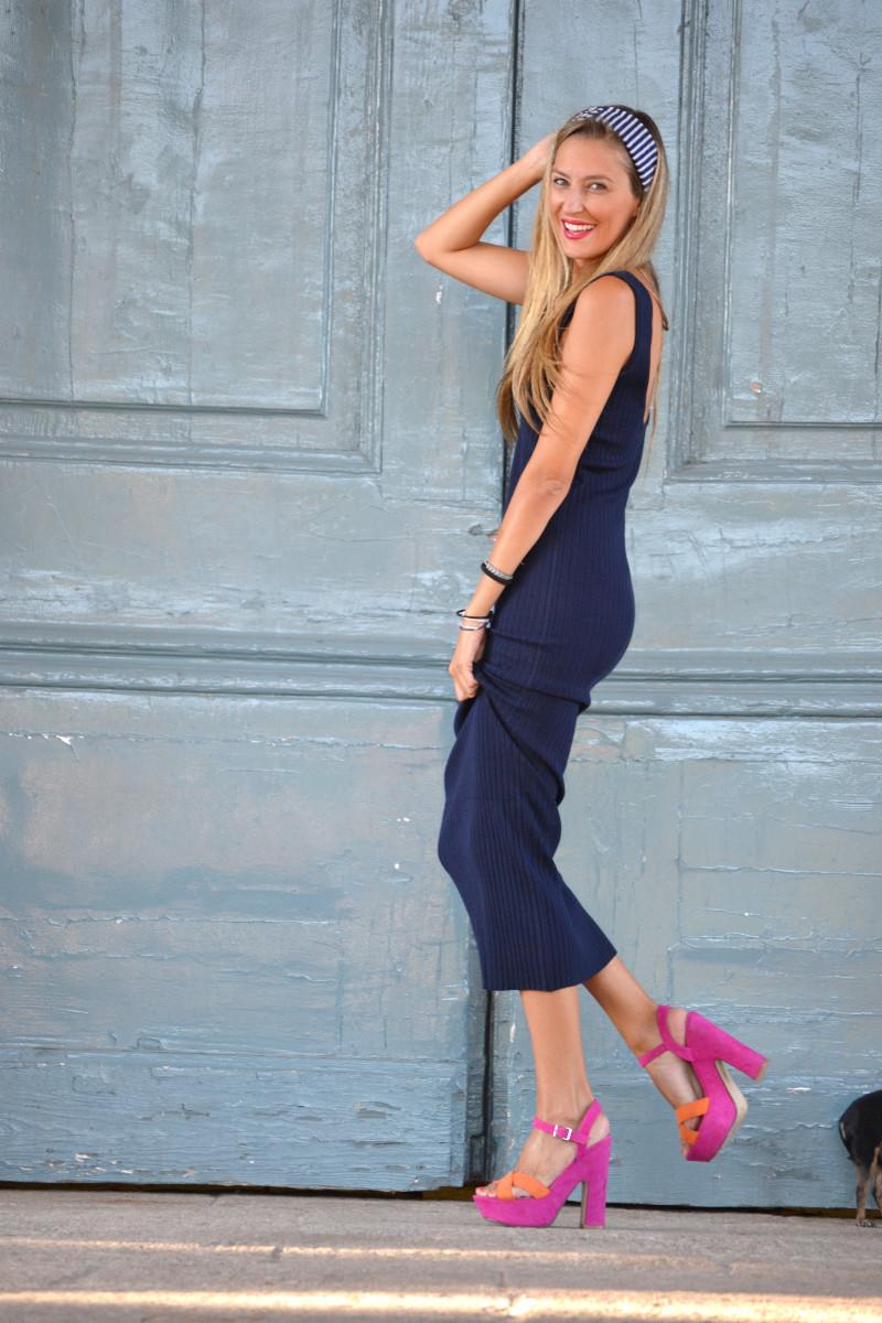 Knit_Long_Dress_Blue_Zara_Pink_Fluor_Chihuahua_Lara_Martin_Gilarranz_Bymyheels (6)
