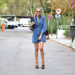 Denim jumpsuit and be chic