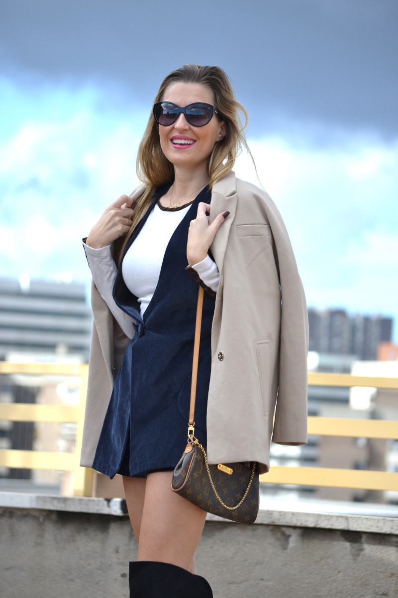 Dungaree_Blue_Roof_Top_Armand_Basi_Louis_Vuitton_Over_The_Knee_Boots_Lara_Martin_Gilarranz_Blazer_Bymyheels (12)