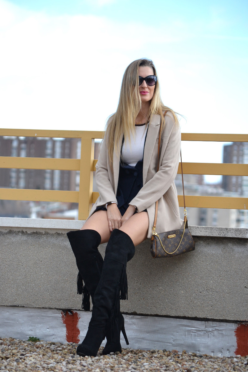 Dungaree_Blue_Roof_Top_Armand_Basi_Louis_Vuitton_Over_The_Knee_Boots_Lara_Martin_Gilarranz_Blazer_Bymyheels (6)
