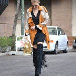 Bicolor Trench and Over The knee