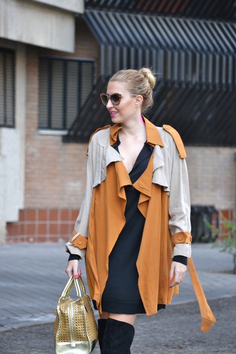 Trench_ Bicolor_Over_The_Knee_Loewe_Amazna_LBD_Lara_Martin_Gilarranz_Bymyheels (2)