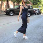 Canale long dress