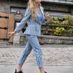 Blue and stripes